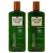 "Thicker Fuller Hair Revitalising Shampoo +Weightless Conditioner ""Set"""