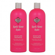 "Rock Your Hair Moisture Madness Intense Repair Colour Protect Shampoo 980ml ""Pack of 5.1cm"