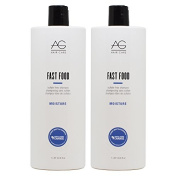 """AG Hair Fast Food Sulphate-free Shampoo 1000ml """"Pack of 5.1cm"""