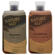 """Nature Nut Shampoo For Normal Hair+Conditioner For Dry Hair 400ml""""Set"""""""