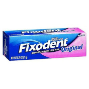 Fixodent Denture Adhesive Cream, Original, Strong And Long Hold - 20ml, 2 Pack