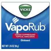 2 Pack - Vicks VapoRub Ointment 50ml Each