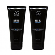 "AG Hair Hard Gel Extra-firm Hold 180ml ""Pack of 5.1cm"