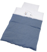 Be Be's Collection Bed Linen 100 x 135 cm Oscar Blue
