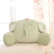 Luxury Back Waist Support Pillow Cute Animal Sofa Bed Rest Reading Pillows Lumbar Cushion