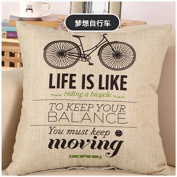 Kicode Modern Letters Quote Words Pillow Case Decorative Cushion Cover Home Sofa Bed Decor Gift