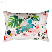 Patterned Decorative Pillow Case Sofa Bed Home Car Decor Cushion Cover