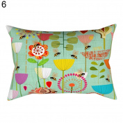 Pattern Decorative Pillow Case Sofa Bed Home Car Decor Cushion Cover
