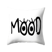 timeracing Fashion Eyes Print Pattern Bed Sofa Waist Throw Pillow Case Cushion Cover Home Room Decor