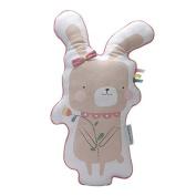 Little Dutch 4503 Pillow Bunny adventure Pink Size 45 cm