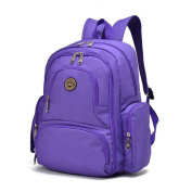 FJY Nappy Bag Nappy Backpack Large Capacity Waterproof Multifunction Pockets for Baby Care Outing Travel