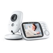 Baby Monitor, Bekhic Baby Monitor with Camera 8.1cm Colour Screen Wireless Video Baby Monitor with Night Vision/Temperature Sensor Two-Way Talk