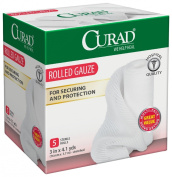 Curad Rolled Gauze, 7.6cm x 4.1 Yards, 5 Count