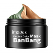 Face Masks, MML 50g+50g Images Natural Double Colours Moisturising Facial Mask Sleeping Whitenin