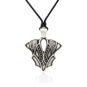 Gravity Metal Knight Armour Pendant Necklace