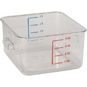 Rubbermaid J871 Rubbermaid Space Saver Container, 4 L