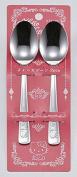 Kakusee Sanrio Hello Kitty Tea Spoon 2pcs KTK-01 from Japan