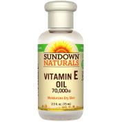 Sundown Naturals, Vitamin E Oil, 70,000 IU, 70ml
