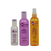 "ApHogee Two-Step Protein Treatment 120ml + Balancing Moisturiser + Keratin & Green Tea Reconstructurizer 240ml ""Set"""