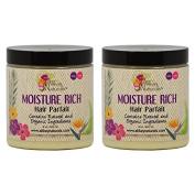"Alikay Naturals Moisture Rich Hair Parfait 240ml ""Pack of 5.1cm"