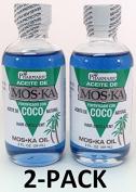 Aceite De Moska Fortificado Con Aceite De Coco 60ml Oil 2-PACK