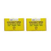 "Obia Naturals Coconut Shea Shampoo Bar 120ml ""Pack of 5.1cm"