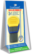 3 Pack - LiceGuard Egg & Lice Combing Kit 1 ea