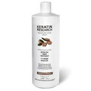 Keratin Research Original Formula Brazilian Keratin Blowout Keratin Hair Straightening Treatment 1000ml (34oz) Professional Results Straighten and Smooths Hair Instantly