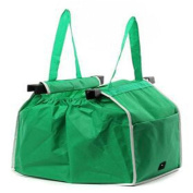 Lalang Recycled Supermarket Trolley Bags Foldable Shopping Bag Eco-Friendly Shopper Bag
