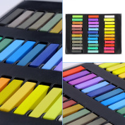 New Arrival Fashion 36 Colours Non-toxic Soft Hair Crayons Pastel Kit Temporary Chalk Dye Personalised Beauty Hair Colour for DIY Hair Style