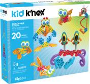 KID K'NEX - Ocean Pals Building Set - 65 Pieces - Ages 3 and Up Preschool Educational Toy