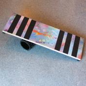 Zeekio Wild Style Rolla Bolla Balance Board - 80cm x 25cm Juggling Prop