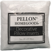Pellon TWP1818 Decorative Twin Pack Pillow Insert, 46cm by 46cm , White