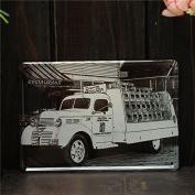 Bazaar Old Car Vintage Metal Painting Sheet Metal Drawing Home Poster Sign Tin Wall Decor