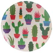 Bamboo plate Cactus biol. Biodegradable
