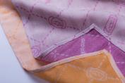 MINÙ Vegetable – 45 x 45 cm 45 x 45 cm/Muslin Swaddle, Cashmere Orange/Purple