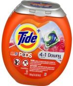 Tide PODS Plus Downy HE Turbo Laundry Detergent Pacs, April Fresh, 54 count