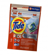 Tide PODS Plus Downy HE Turbo Laundry Detergent Pacs, April Fresh, 23 count