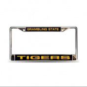 Grambling Tigers NCAA Chrome Laser Cut Licence Plate Frame
