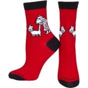 Just Plain Mean - Tail Bite Women's Socks