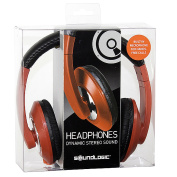 SoundLogic On-ear Stereo Headphones with Built-in Microphone