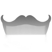 Aptoco Stainless Steel Shaping Combs Ideal for Your Beard Grooming Kit