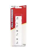 2 Pack Weekly Pill Reminder Organiser Day Box Storage Medication Tray, Small