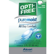 3 Pack - Opti-free Pure Moist Solution, 60ml Each