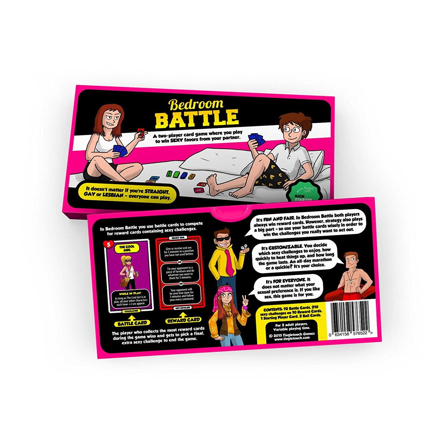 Bedroom Battle | Fun Card Game For Couples