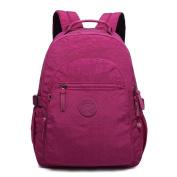 Gurscour Womens girls Nylon Bags Travel SchoolBag Laptop Backpack Rucksack Travel Daypack 983-EU