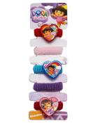 Dora the Explorer Assorted Colours Mini Scrunchie Set