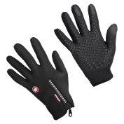 Waterproof Touch-screen Gloves,with Full-finger Design,for Outdoor Sports Climbing Dress Driving Cycling Motorcycle Camping etc