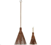 Coconut Palms Outdoor Broom & Whisk Set by Ultimate Innovations