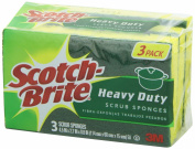 3M Scotch-Brite Mix Scrub Sponge Display - 3ct